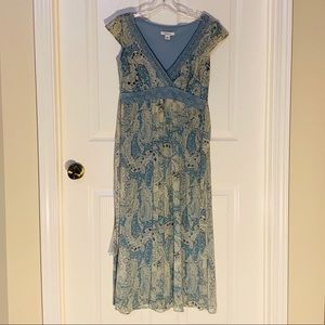 Dress Barn Paisley Dress